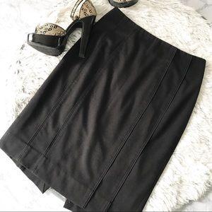 White House Black Market Knit Pencil Skirt EUC